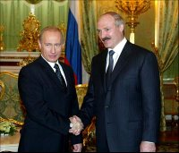 Lukashenko and Putin
