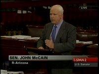 McCain 'banana' on Senate floor 5-17-06