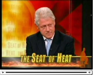 Clinton on the Daily Show