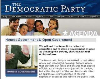 Democratic Party Website