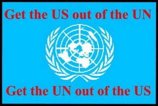 I am Ashamed the US is a Member of the United Nations