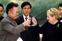 Clinton and Albright set the stage that Kim Jong Il is now playing on...