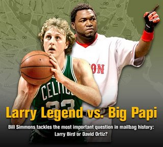 Larry Legend vs Big Papi