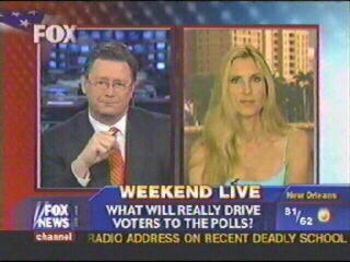 Ann Coulter Aggressively Takes on Democrat Response to Mark Foley