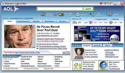 Does AOL Hate President Bush Or What?