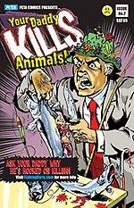 PETA's new comic taking aim at Dad's who fish!