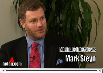 Michelle interviews Mark Steyn