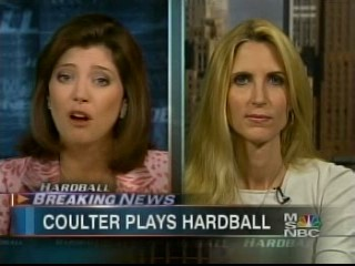 Coulter plays Hardball