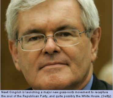 Gingrich Plans Massive Outreach