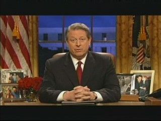 Al Gore on SNL - click here for the video