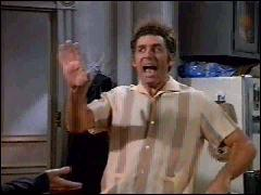 Hey, Kramer, no one's laughing