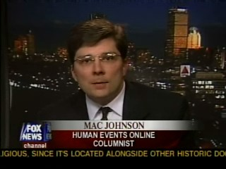 Mac Johnson on The O'Reilly Factor