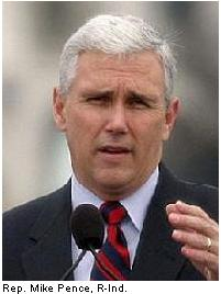 U.S. Congressman Mike Pence : 6th District Of Indiana