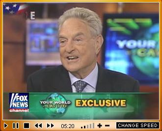 Click for video: Soros on with Cavuto