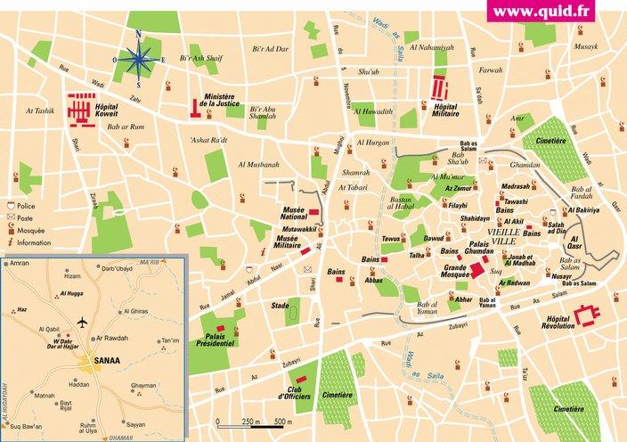 Sleepless in Sanaa Maps of Sanaa