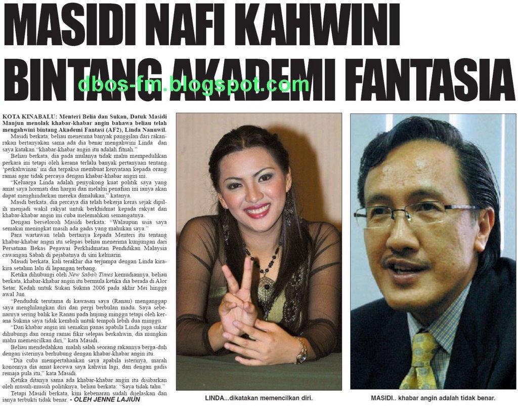 Dbos Fm Datuk M Nafi Berkahwin Dengan Linda Af2