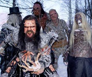 Lordi - bilden lånad från http://www.headbanger.hu
