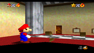 Super Mario 64 without clipping