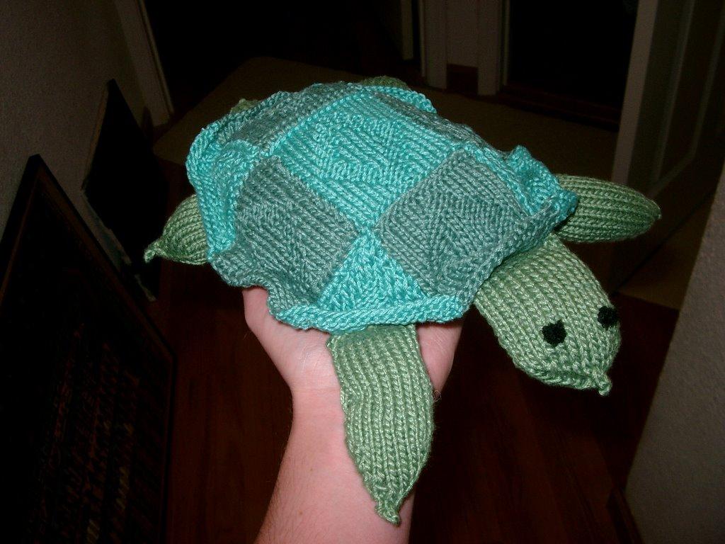 Knitting Patterns Turtle Toy : margits knitting adventures: Stuffed Animals! Turtle ...