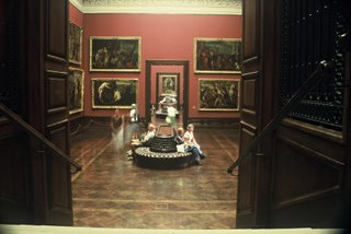 Old Masters Gallery at the Zwinger Palace, Dresden
