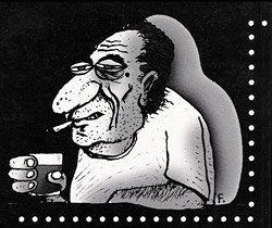 Ilustração de contracapa de Hino da Tormenta, por Frank Maia