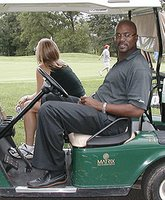 Billy King golfing, because that's how he rolls