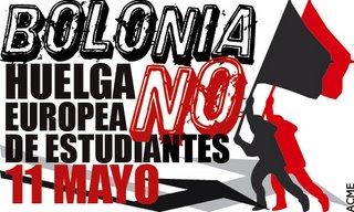 Greve Europeia dia 11 de Maio