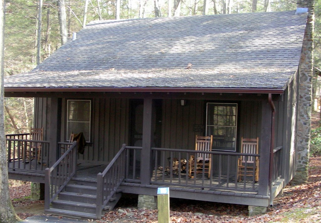 We Got Cabin 15, One Of The Nicest Cabins Weu0027ve Rented At A State Park. You  Canu0027t Get To The Cabins By Car, So There Is No Traffic Noise.