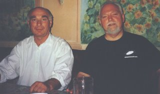 Ken Campbell with Bob