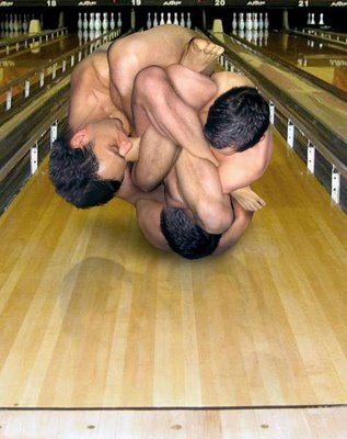 real life human bowling ball