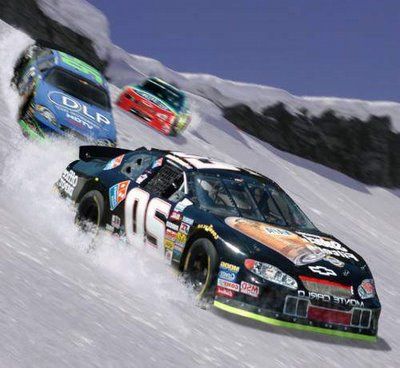 nascar racing on ice