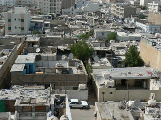 A poor area of Doha