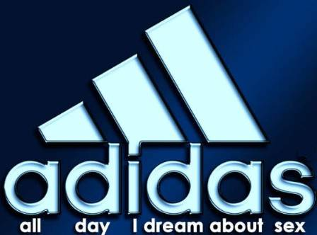 Adidas funny picture