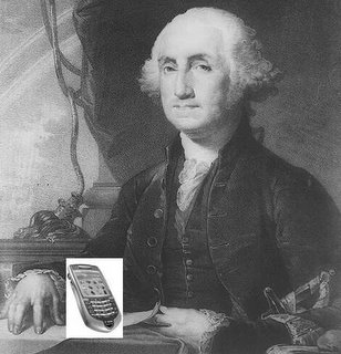 Washington's Handphone