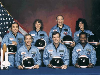 The Crew of Challenger 51L