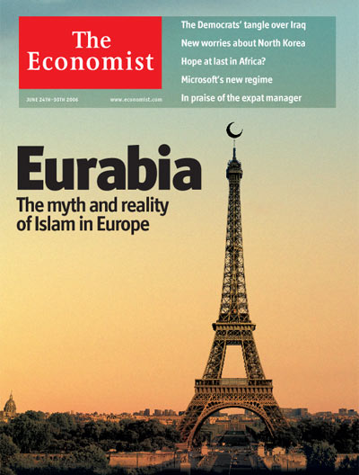 The Economist on 'Eurabia'