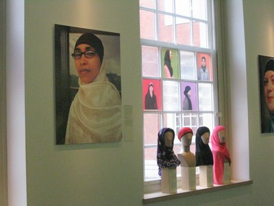 Hijabs at the Amerstdam Historical Museum