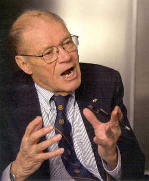 Robert McNamara, being interviewed in 'The Fog of War'
