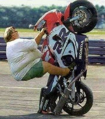 Big Guy's Wheelie