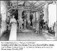 Primeros talleres, con mano de obra inmigrante