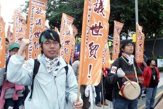 香港職工會聯盟遊行隊