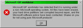 Microsoft GIF annihilator