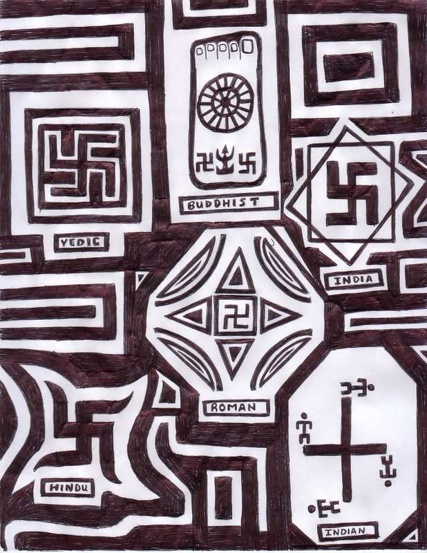 Shock A Comm Swastikas Are Symbols And Words Sacred Should Their