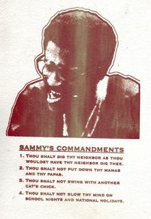 Sammy's Commandments