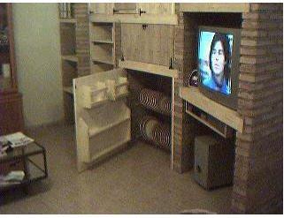 Muebles rusticos en ladrillo for Muebles rusticos para salon