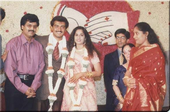 Exclusive Wedding Stills Of Ajith Shalini