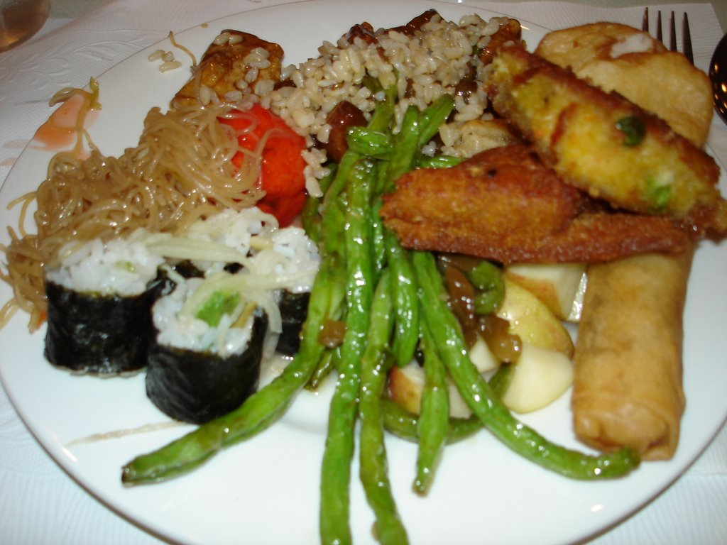 Vegan Food At Treasure Island Buffet