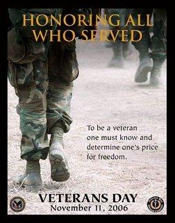 veterans day 2006