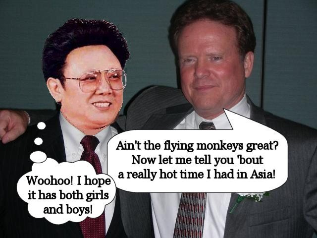 James Webb, separated at birth from Kim Jung Il?