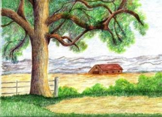 jeanne grant colored pencil landscape